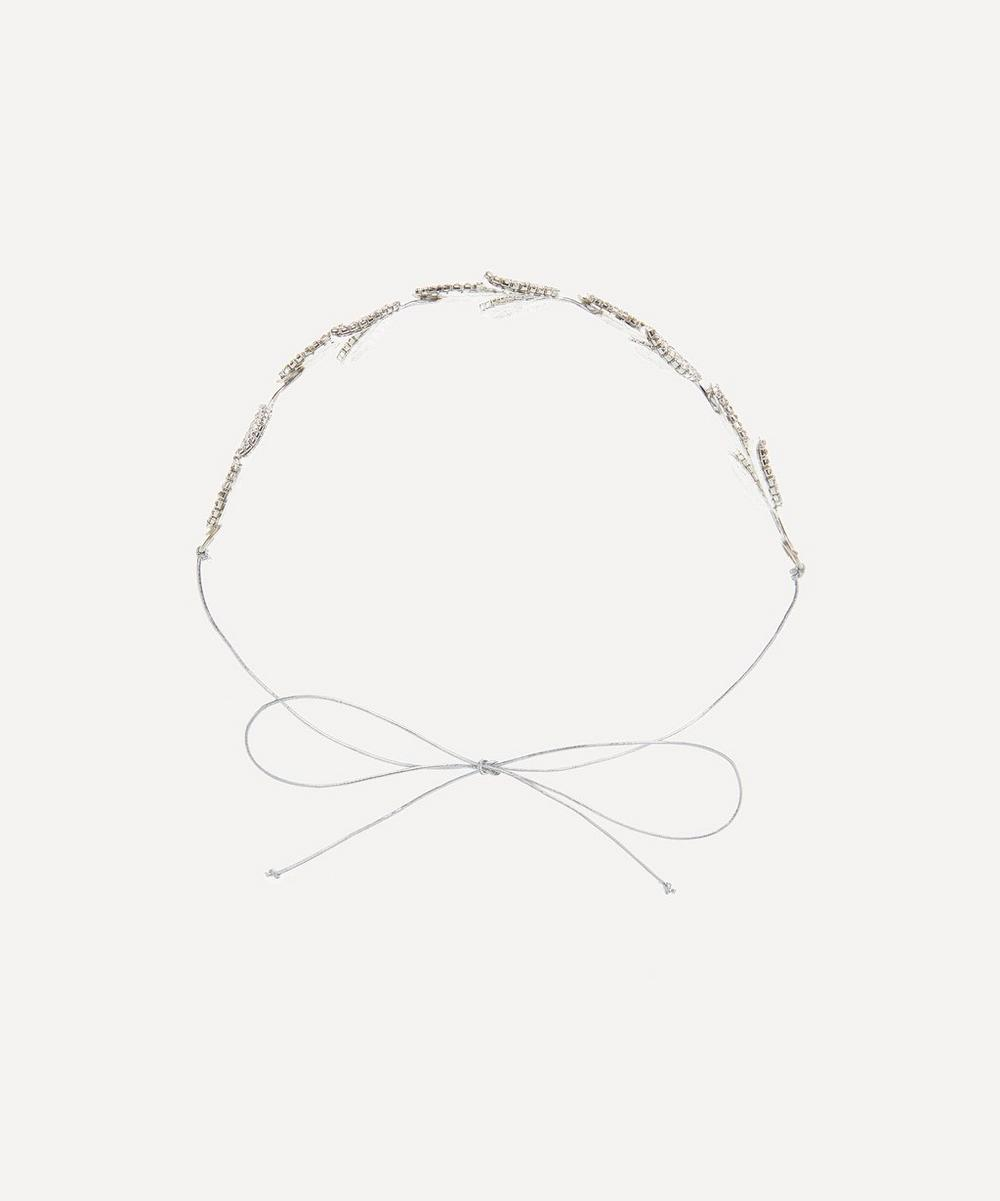 Halo & Co - Donatella Crystal Leaf Headband