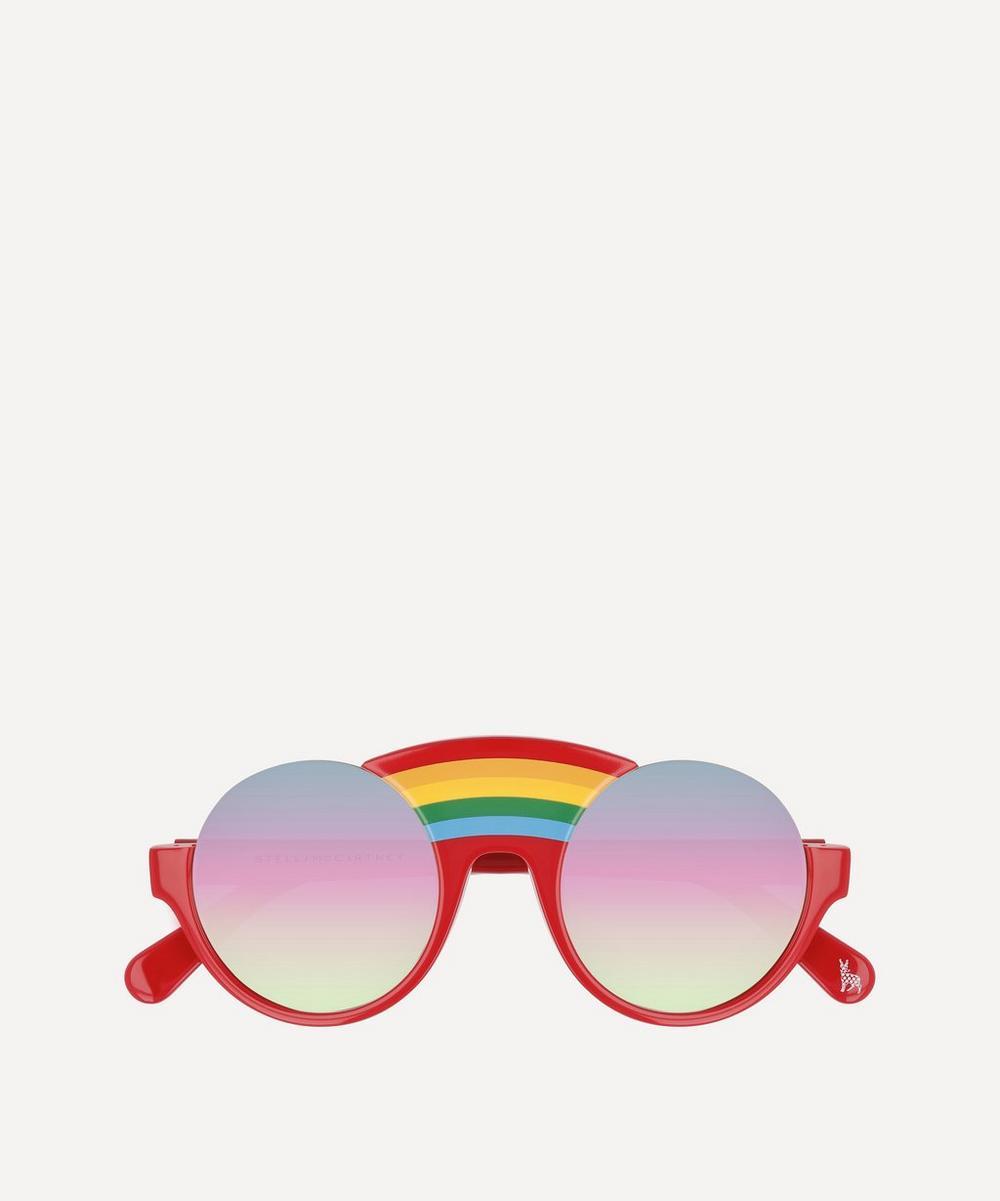 Stella McCartney Kids - Round Rainbow Bridge Sunglasses