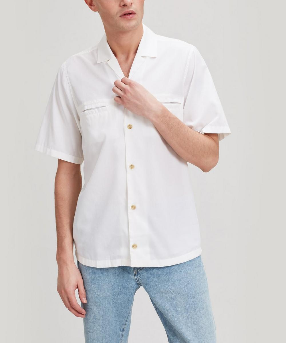 King & Tuckfield - Cotton-Blend Bowling Shirt