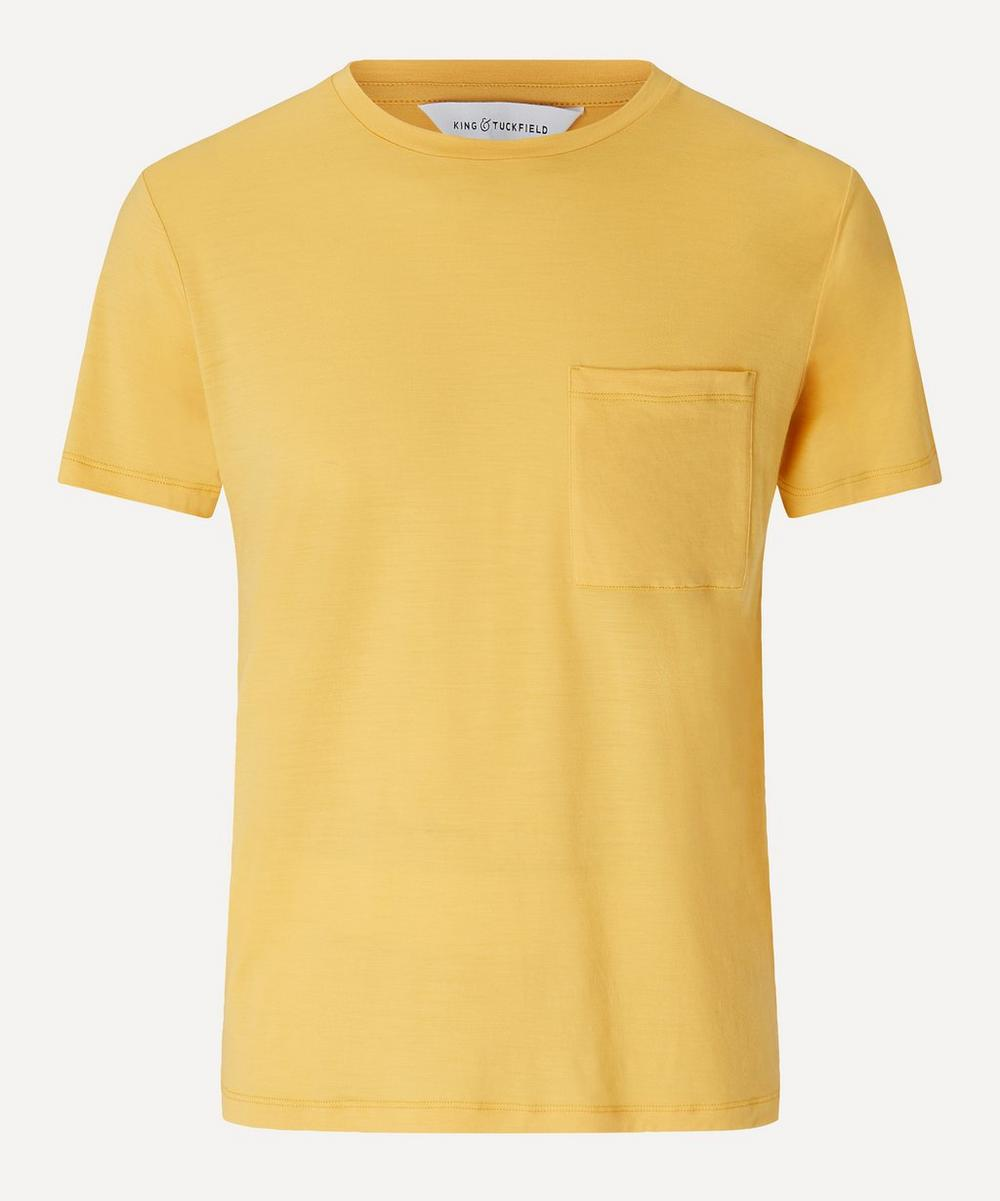 King & Tuckfield - Merino Wool Pocket T-Shirt