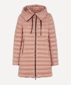 Rubis Nylon Mid-Length Puffer Coat