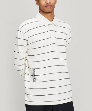 Beck Striped Long-Sleeve Polo-Shirt