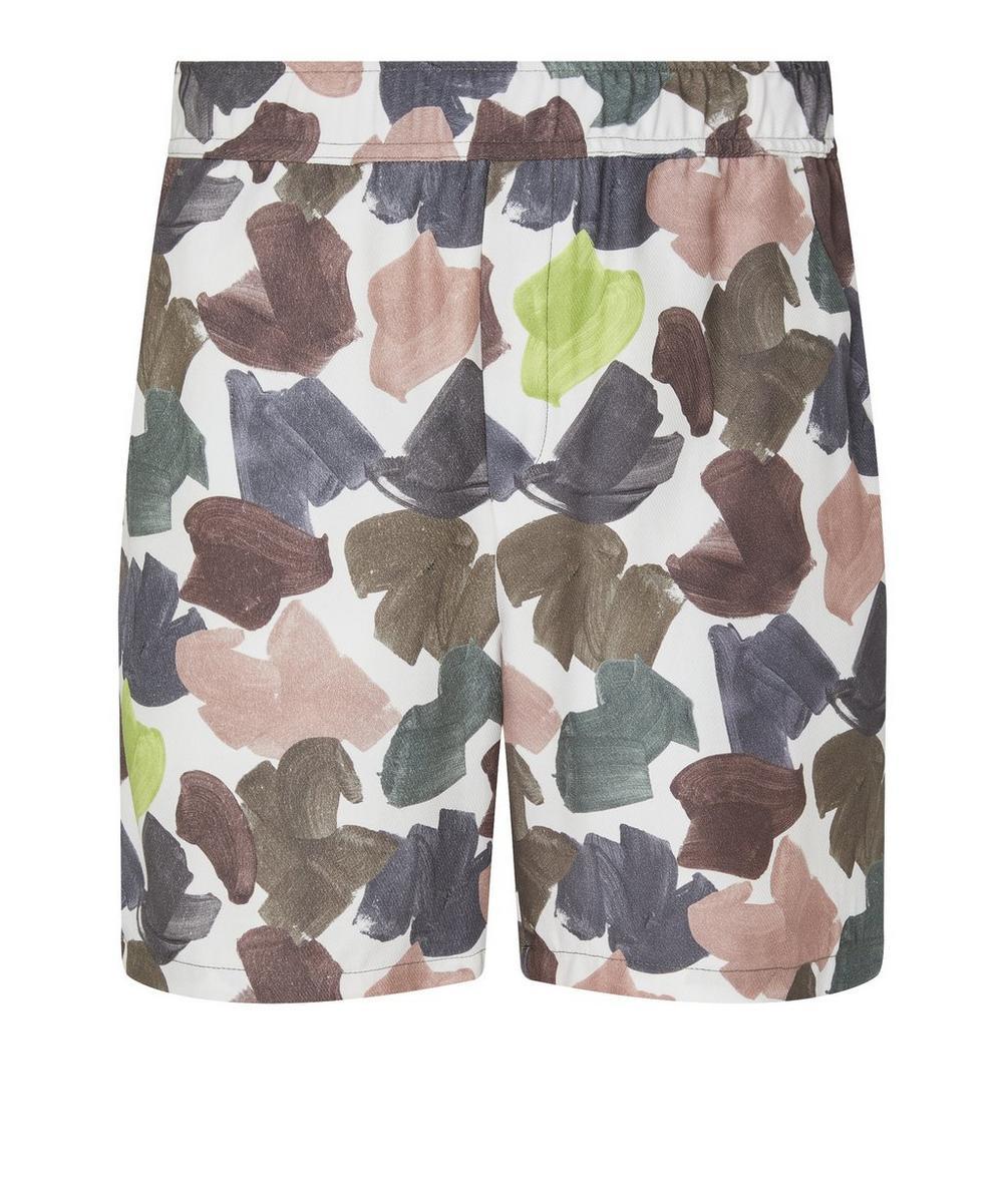 Wood Wood - Hamilton Brush Stroke Print Shorts