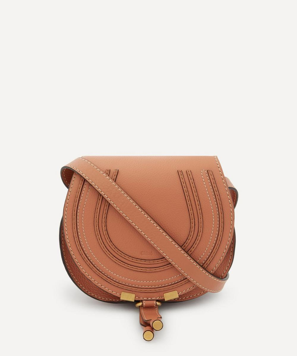 Chloé - Marcie Mini Leather Saddle Bag