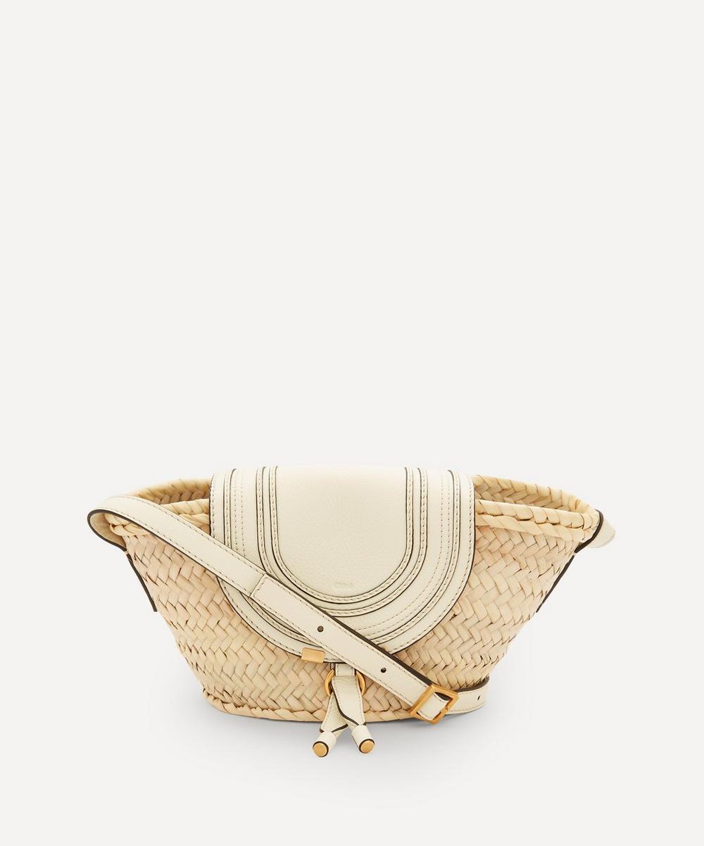Chloé - Marcie Woven Straw Cross-Body Bag