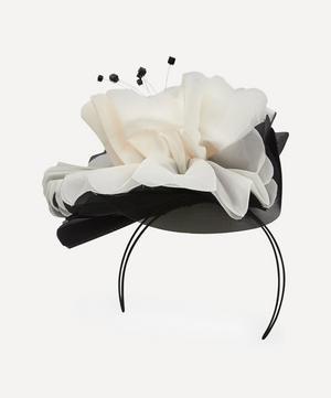 Pleated Silk Waterlily Headpiece