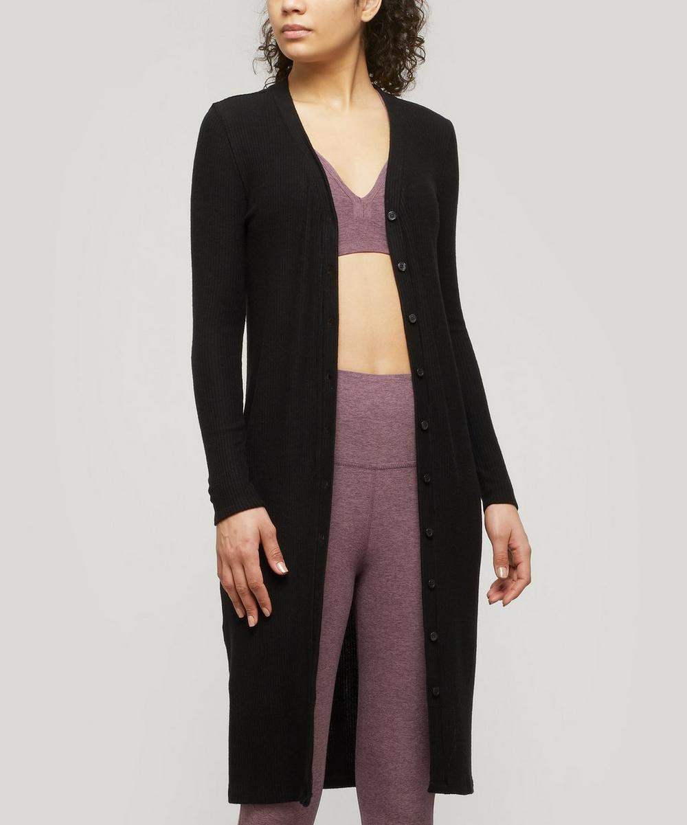 Beyond Yoga - Your Line Front Buttoned Long Duster