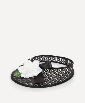 Carve Flower-Trimmer Mesh Visor