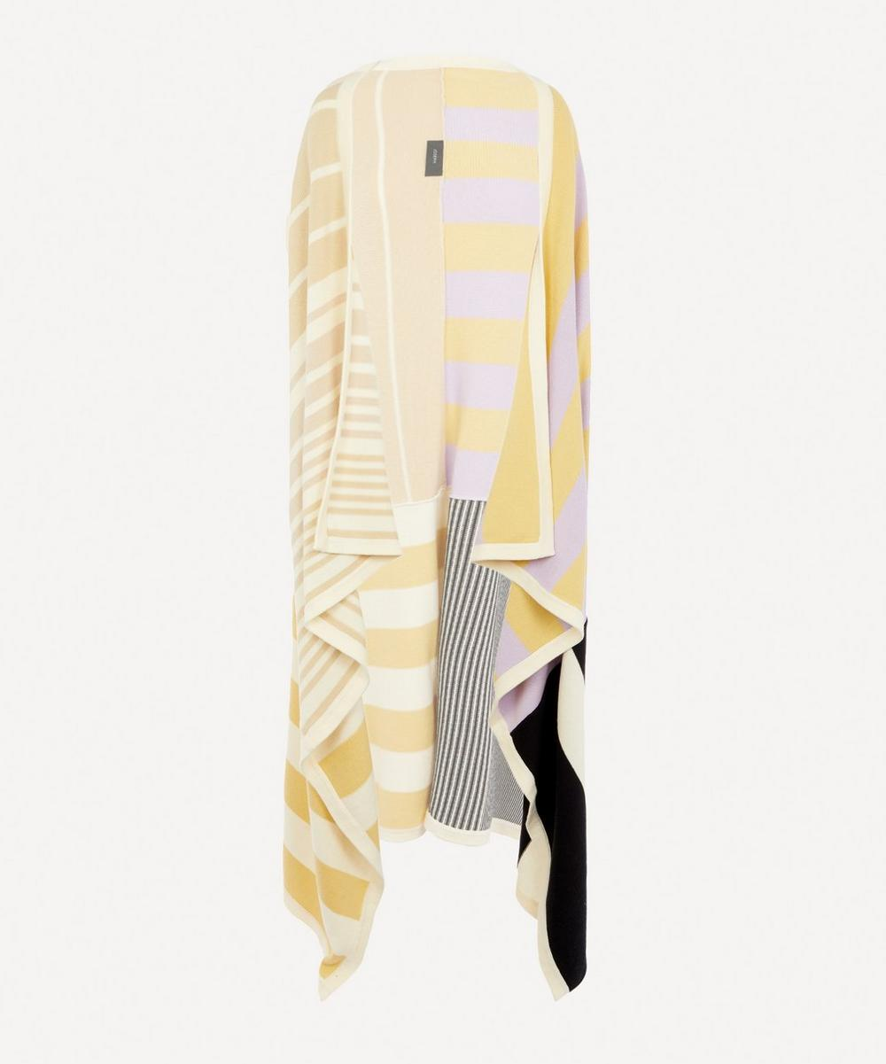 Joseph - Patchwork Knit Cape