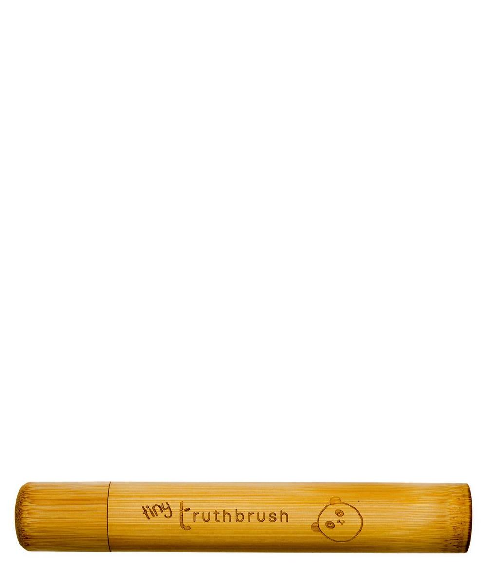 Truthbrush - Tiny Truthbrush Bamboo Travel Case