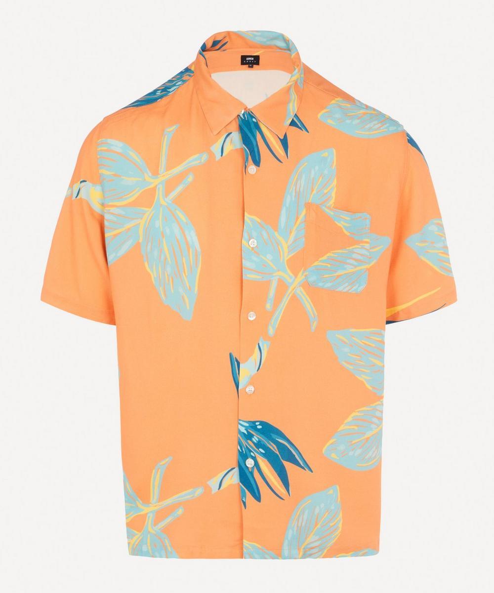 Edwin - Floral Resort Open Collar Shirt
