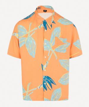 Floral Resort Open Collar Shirt