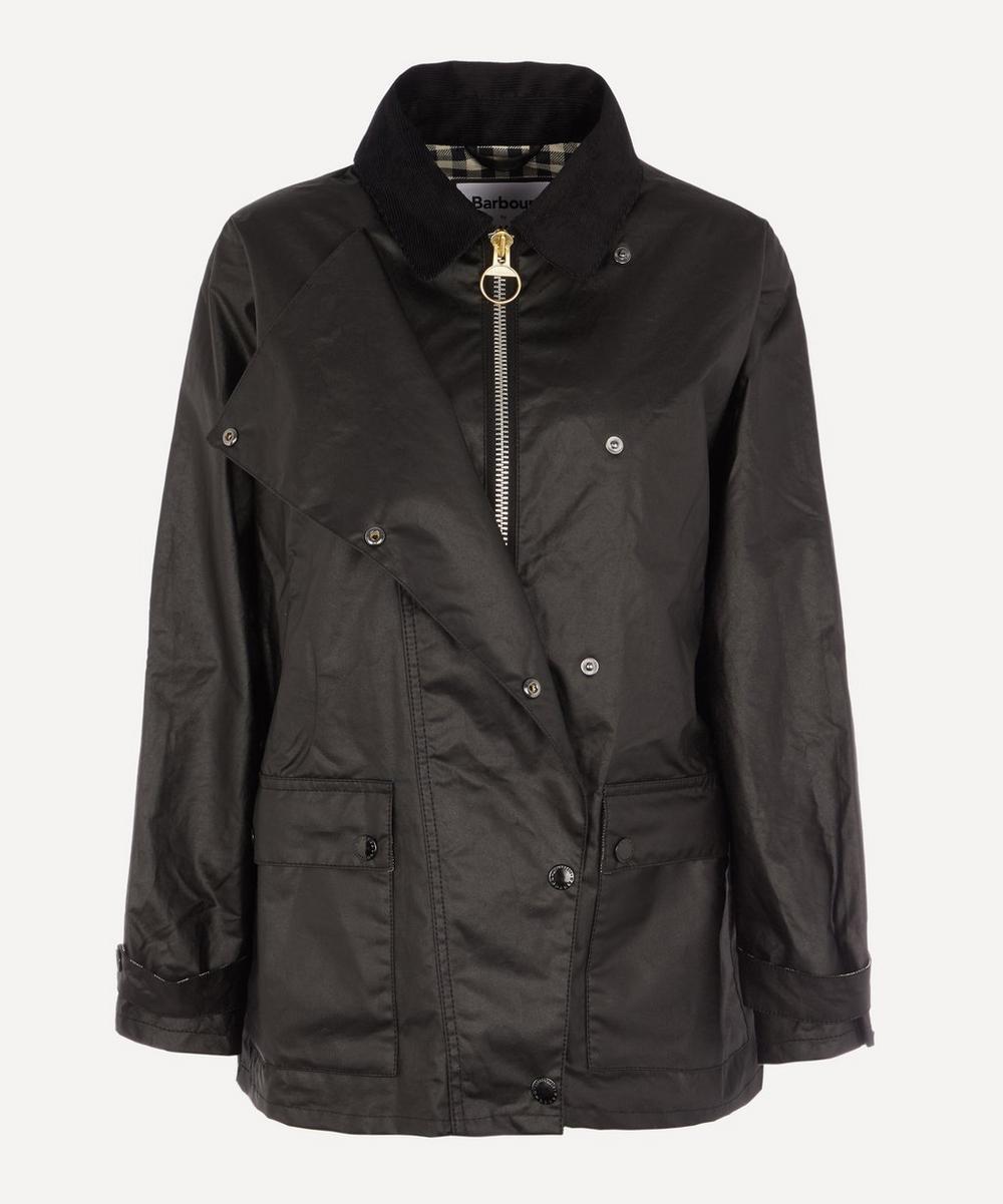 Barbour - x ALEXACHUNG Agatha Belted Wax Jacket