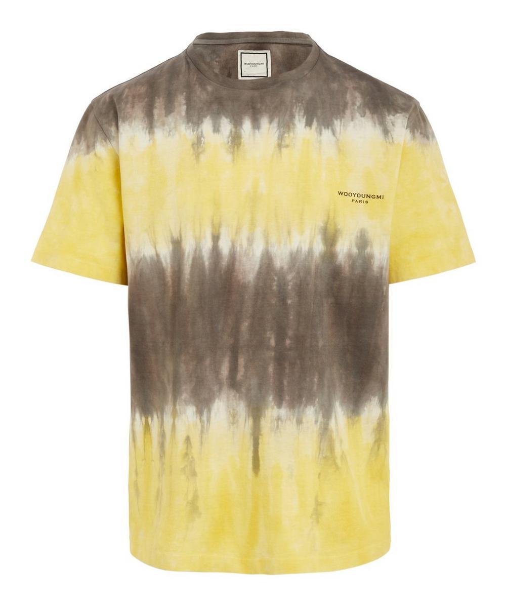 Wooyoungmi - Tie-Dye Cotton Logo T-Shirt
