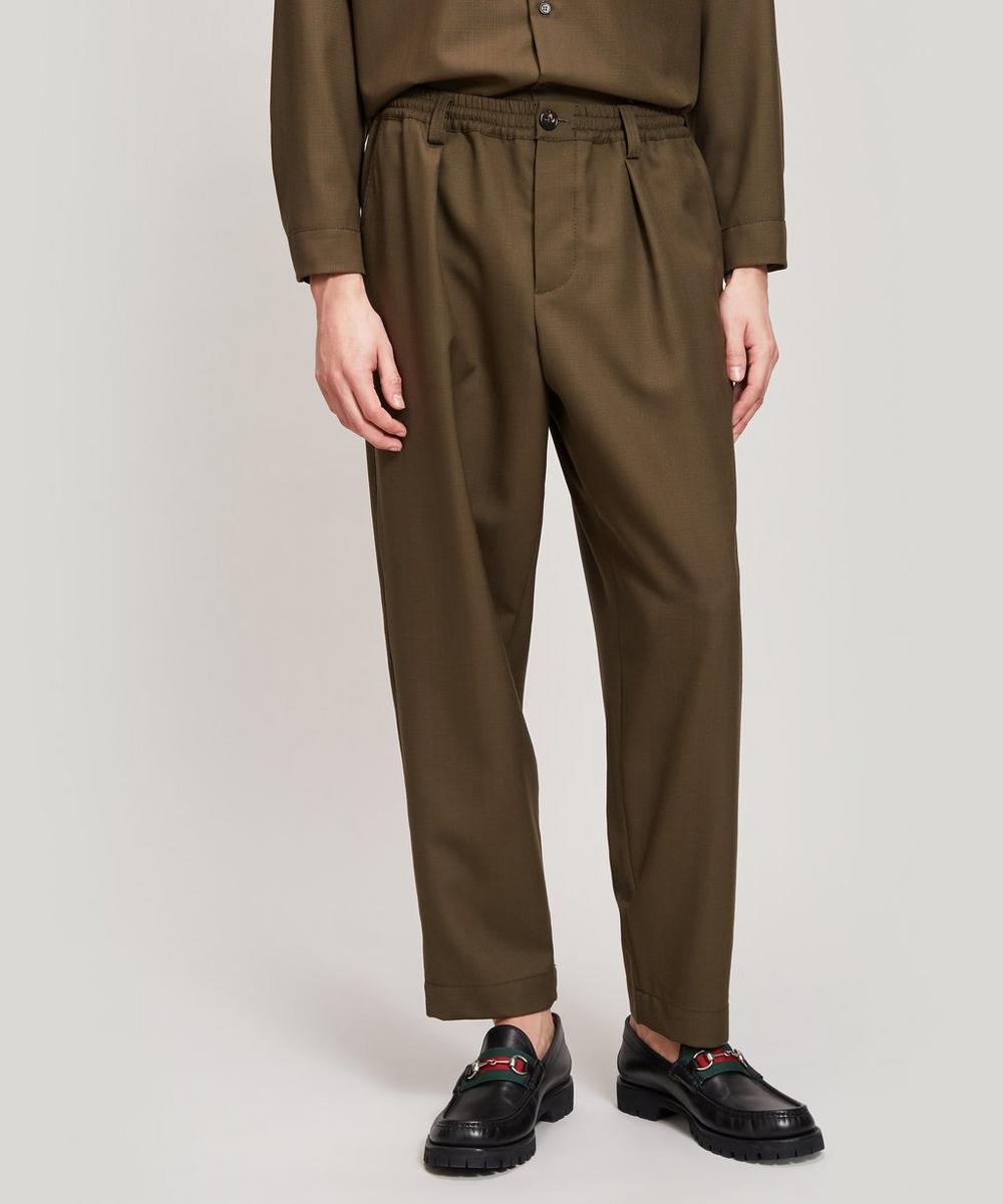 Marni - Tropical Wool Trousers