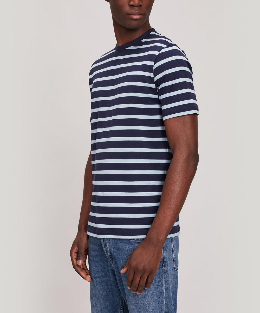 Sunspel - Striped Pima Cotton T-Shirt