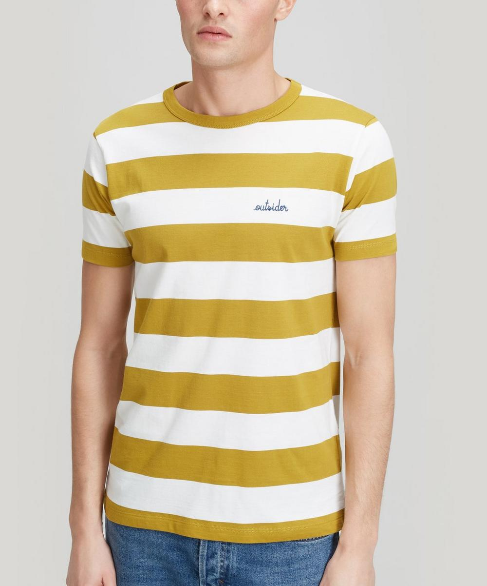 Maison Labiche - Outsider Stripe Cotton T-Shirt