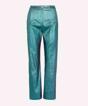 Hamptons High-Rise Shiny Trousers