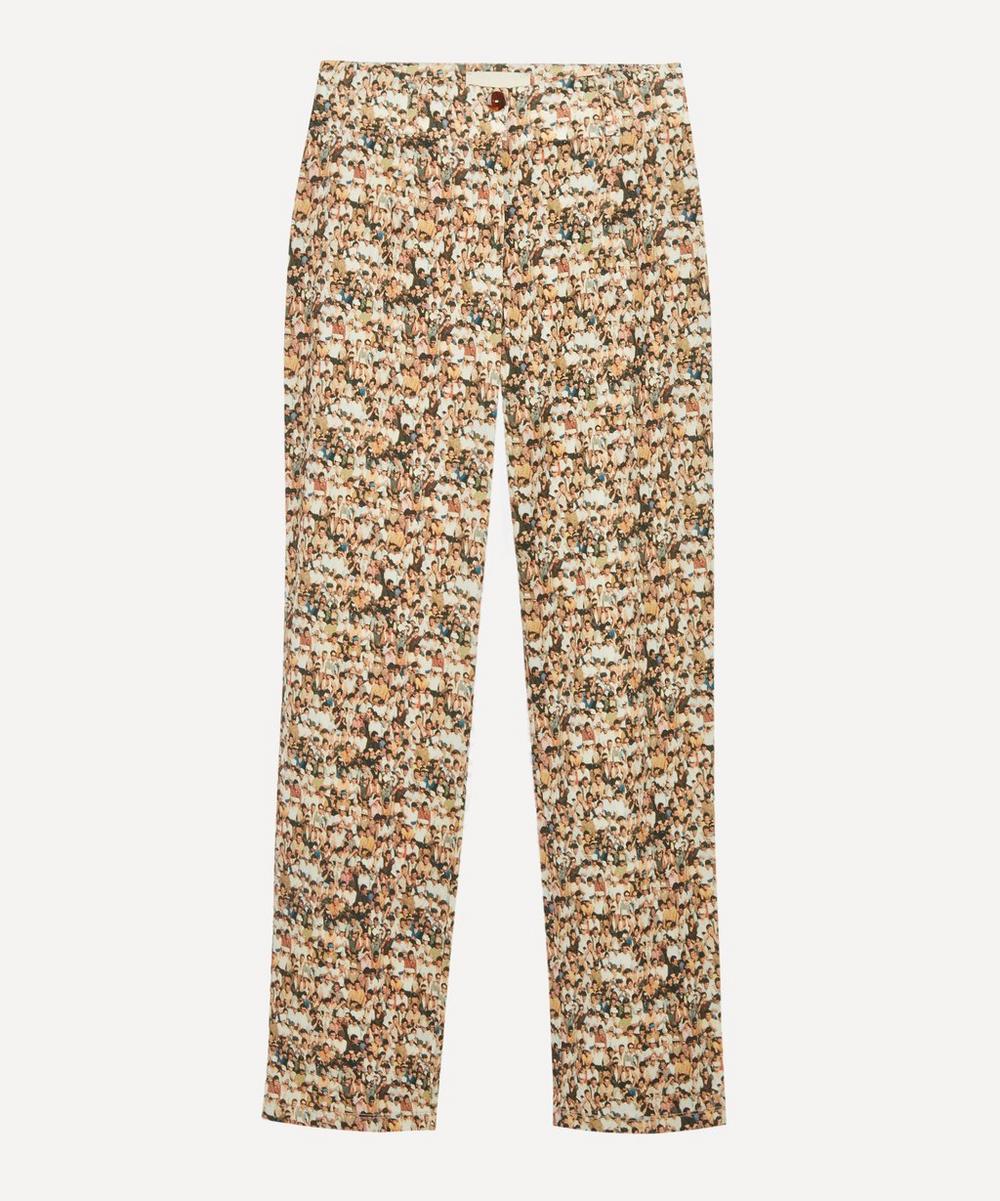Paloma Wool - Muchacho People Print High-Waist Trousers