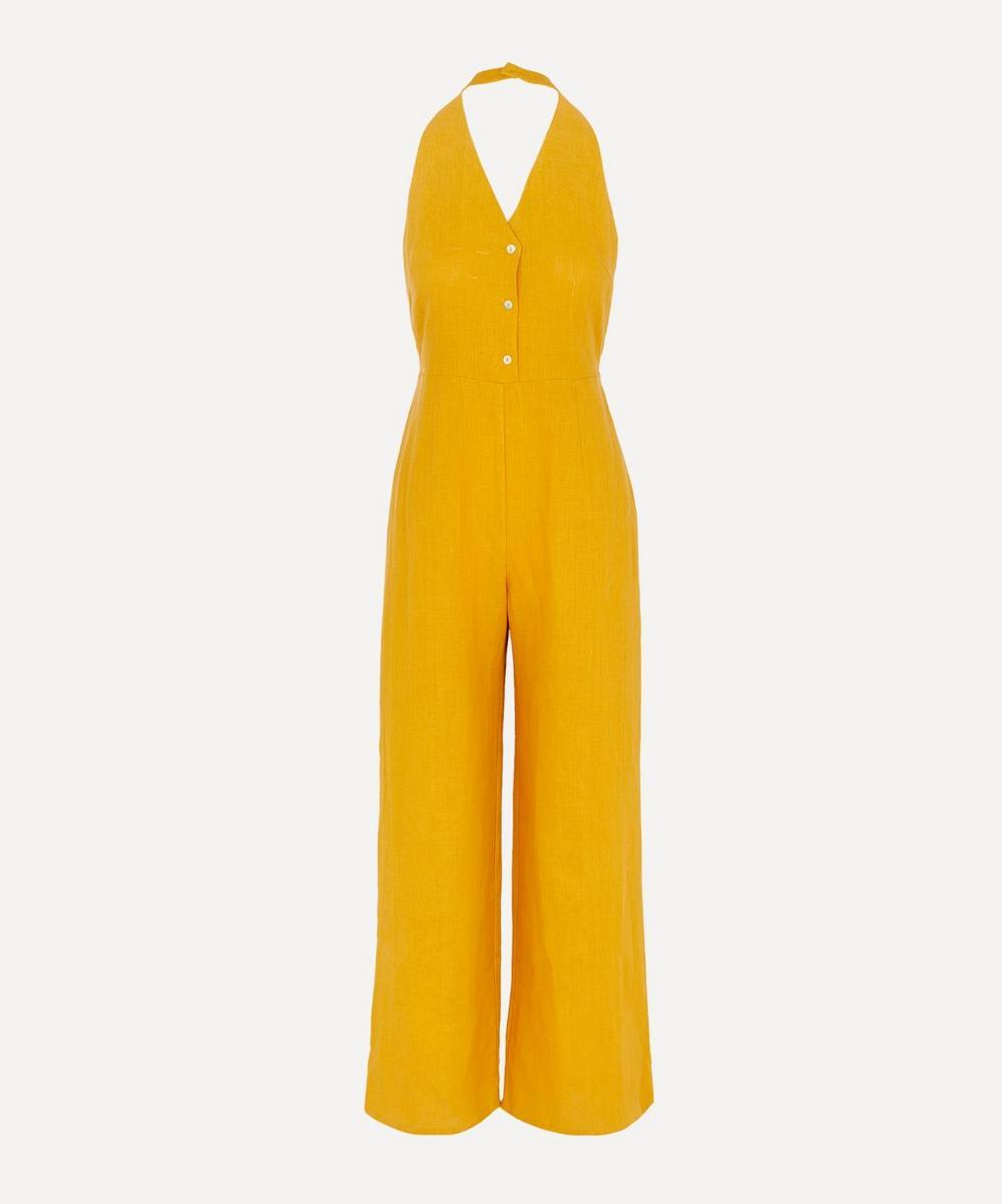 Paloma Wool - Beirut V-Neck Linen Jumpsuit