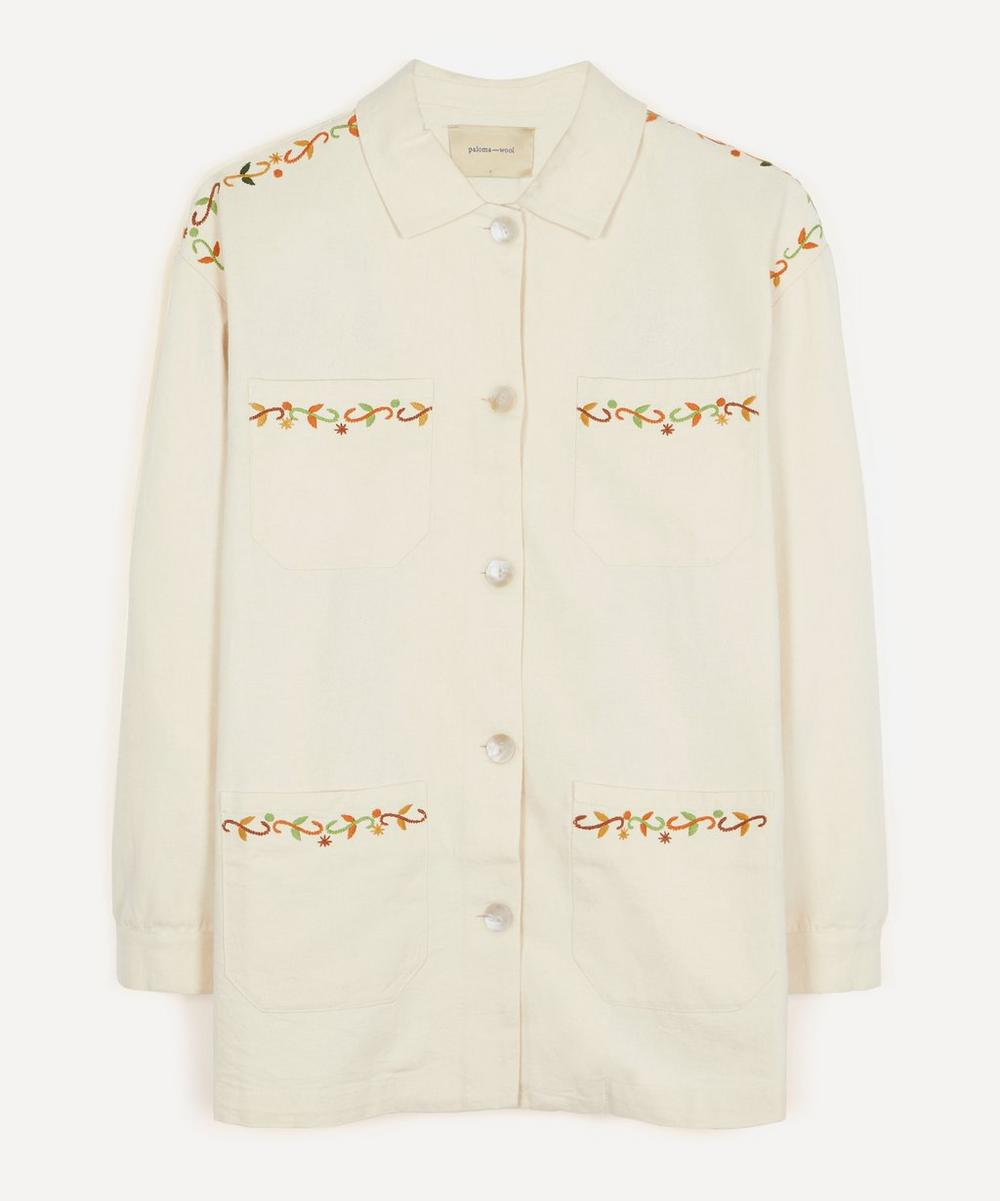 Paloma Wool - Holly Embroidered Cotton Jacket