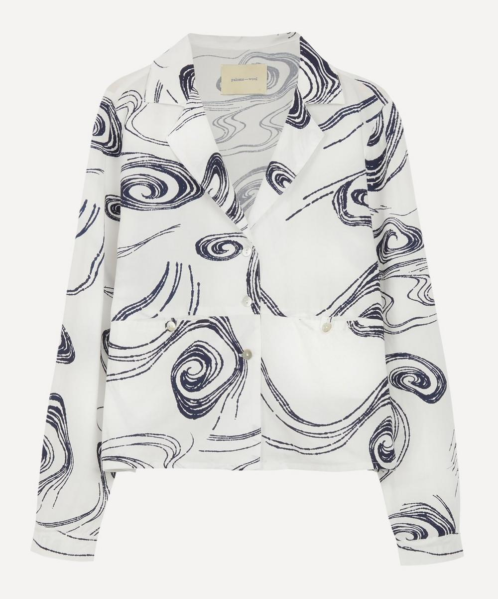Paloma Wool - Ola Twister Print Square Shirt