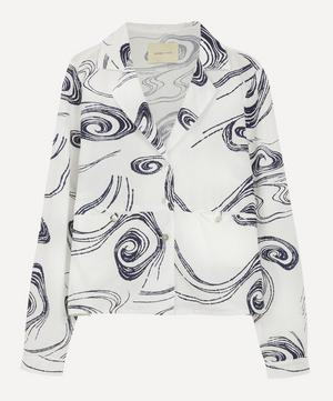 Ola Twister Print Square Shirt
