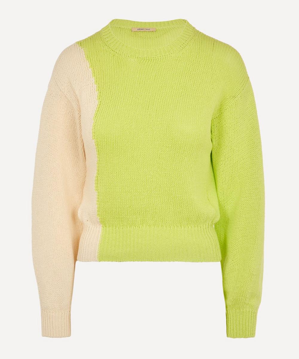 Paloma Wool - Camu Intarsia Line Sweater