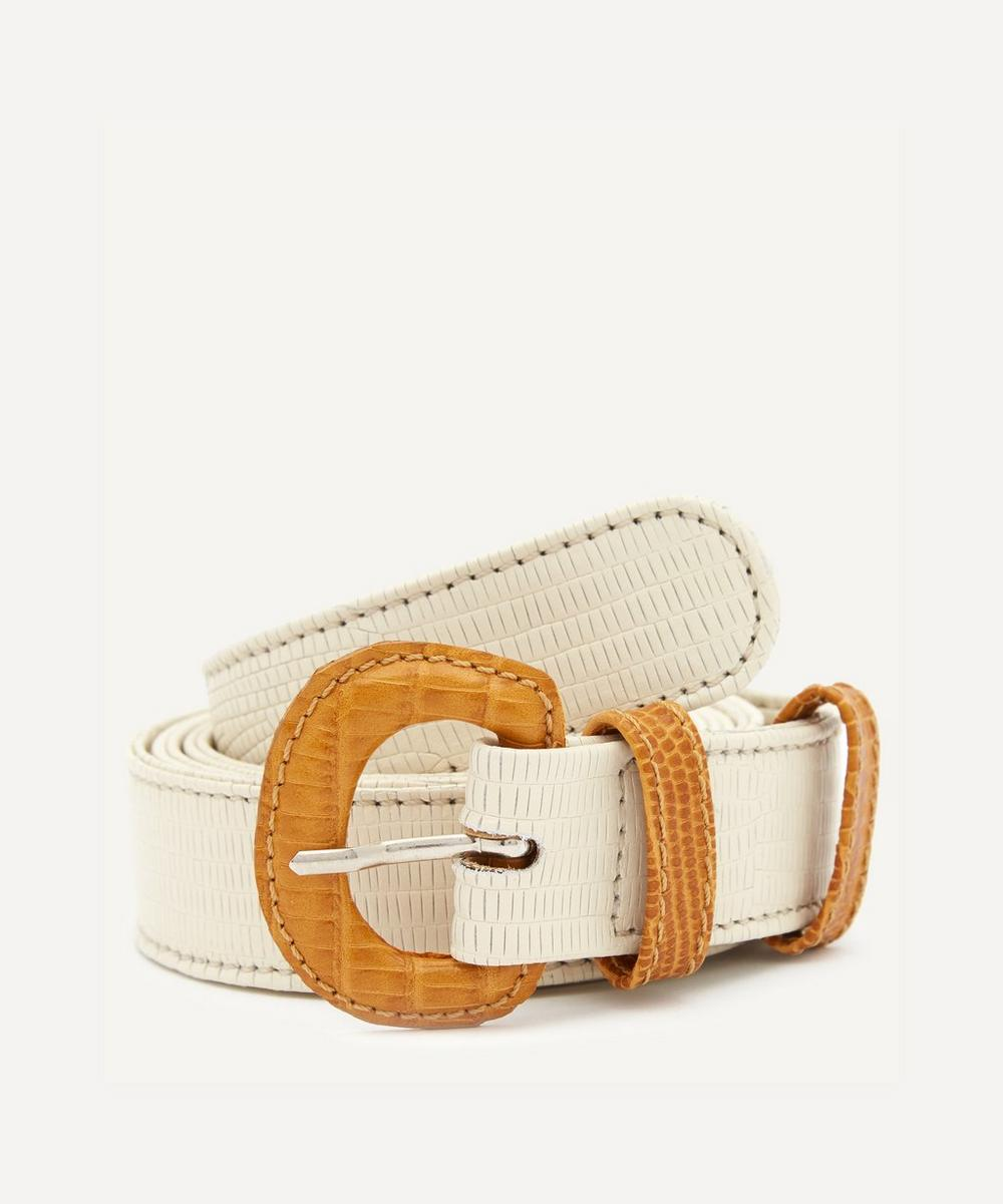 Paloma Wool - Listo Leather Lined Buckle Belt