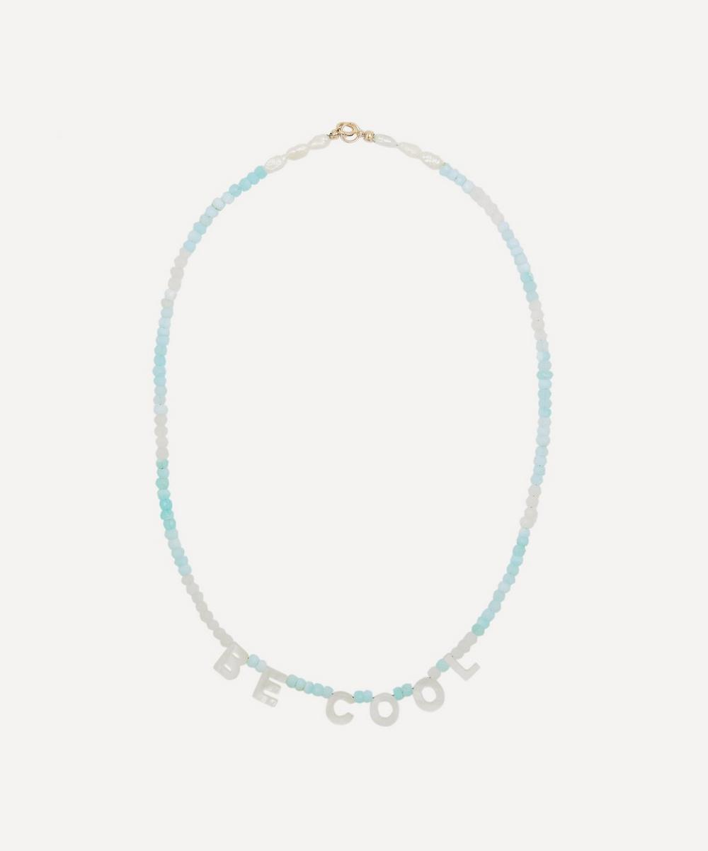 Roxanne First - BE COOL Peruvian Opal Beaded Necklace