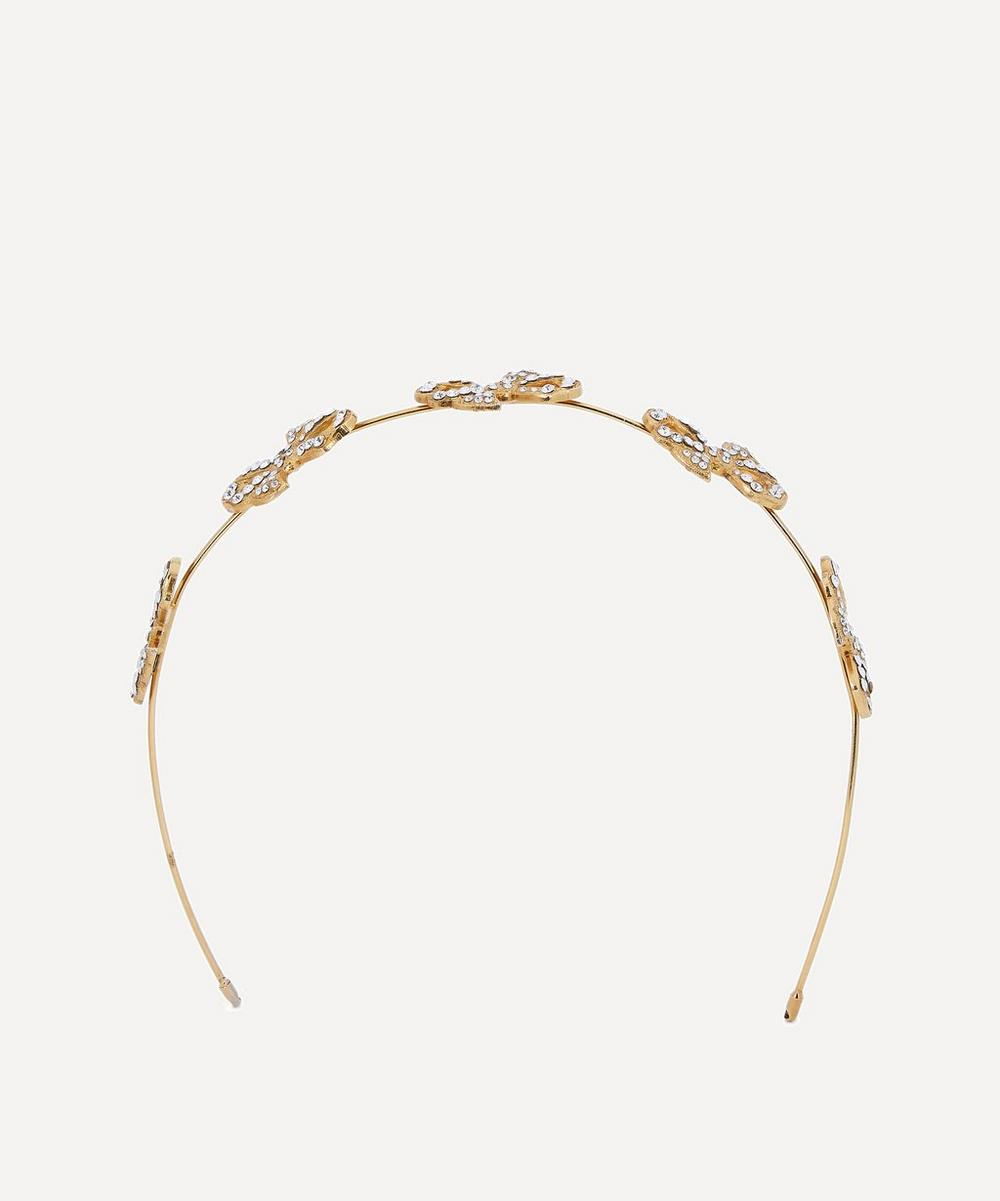 Halo & Co - Perry Crystal Bow Headband