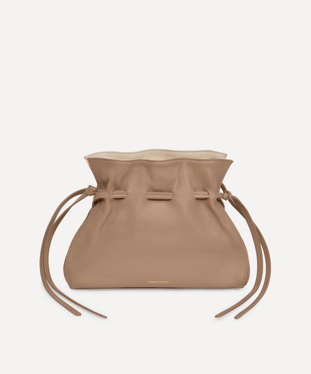 Mansur Gavriel - Mini Leather Protea Cross-Body Bag