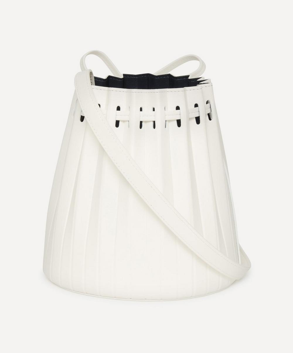 Mansur Gavriel - Mini Pleated Leather Bucket Bag