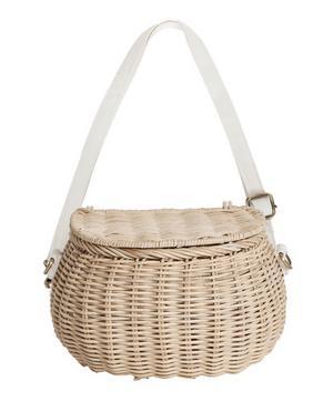 Mini Chari Basket Bag in Natural