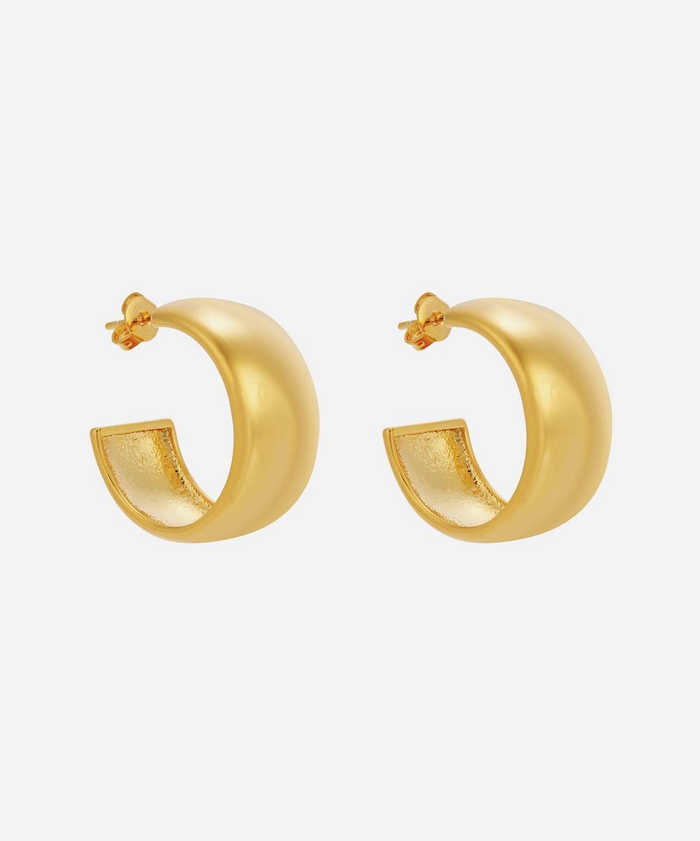 Moya - Gold-Plated Giorgia Hoop Earrings