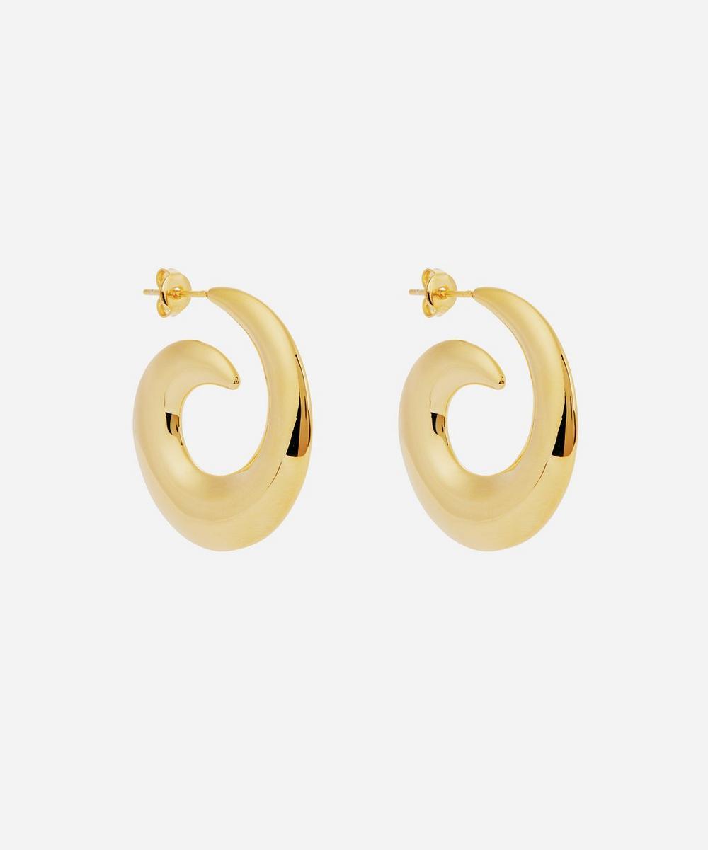 Moya - Gold-Plated Kellie Hoop Earrings
