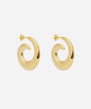 Gold-Plated Kellie Hoop Earrings