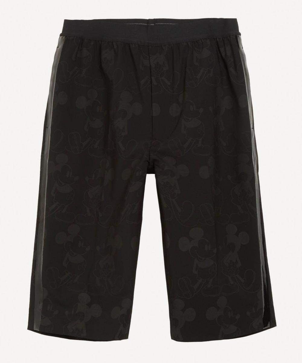 The Soloist - Mickey Mouse Print Side Tape Shorts