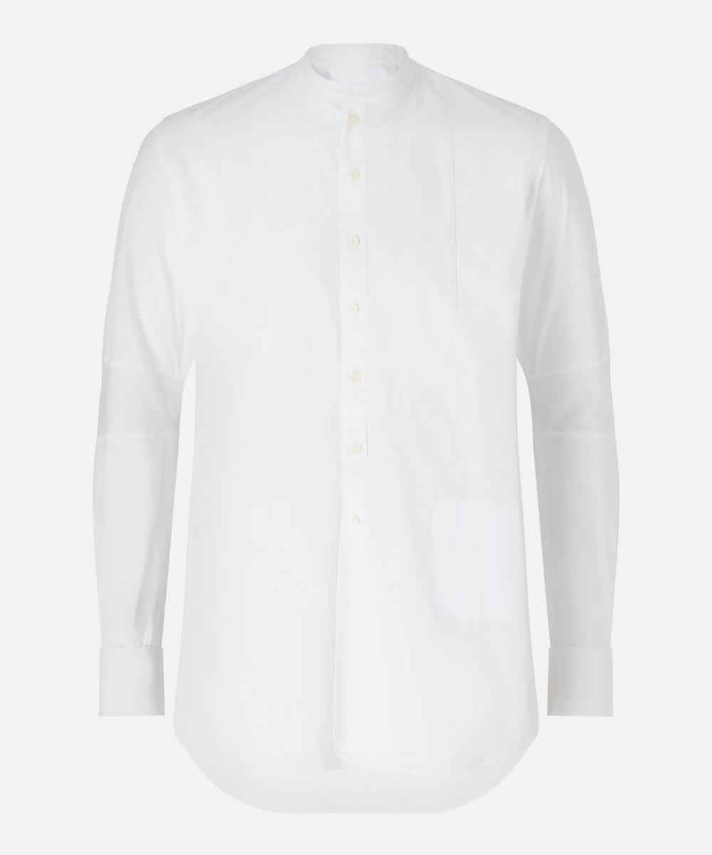 The Soloist - Grandad Collar Bib Shirt