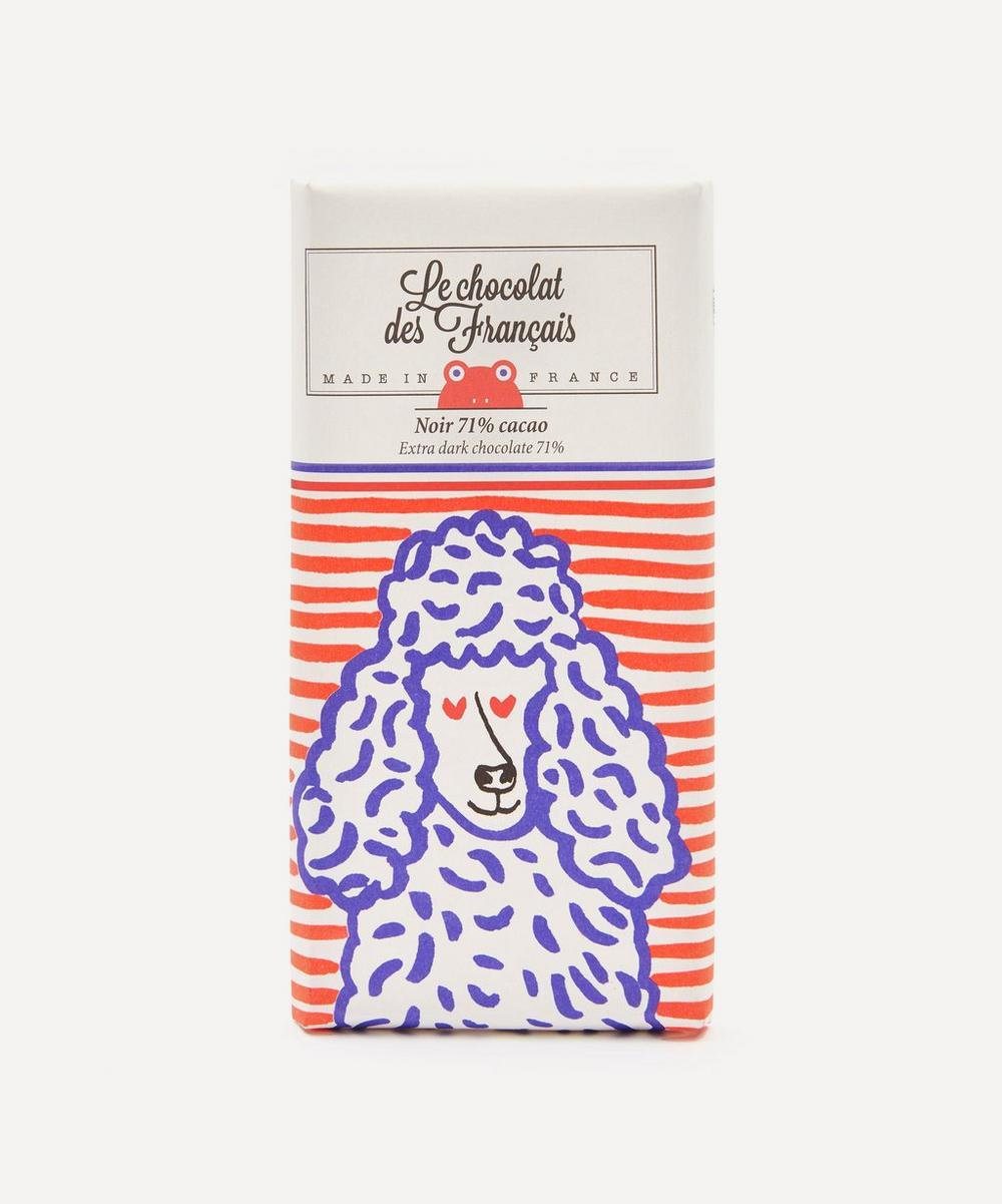 Le Chocolat des Français - Le Caniche Extra Dark Chocolate Bar 80g