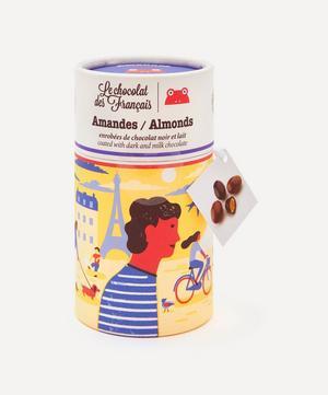 Milk and Dark Chocolate Coated Almonds 125g