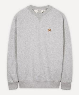 Fox Head Patch Cotton Sweater