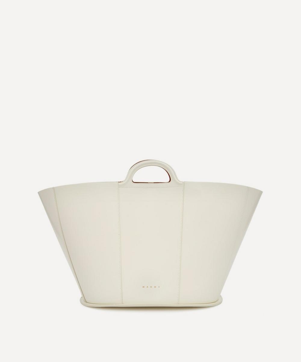 Marni - Tropicalia Large Leather Tote Bag