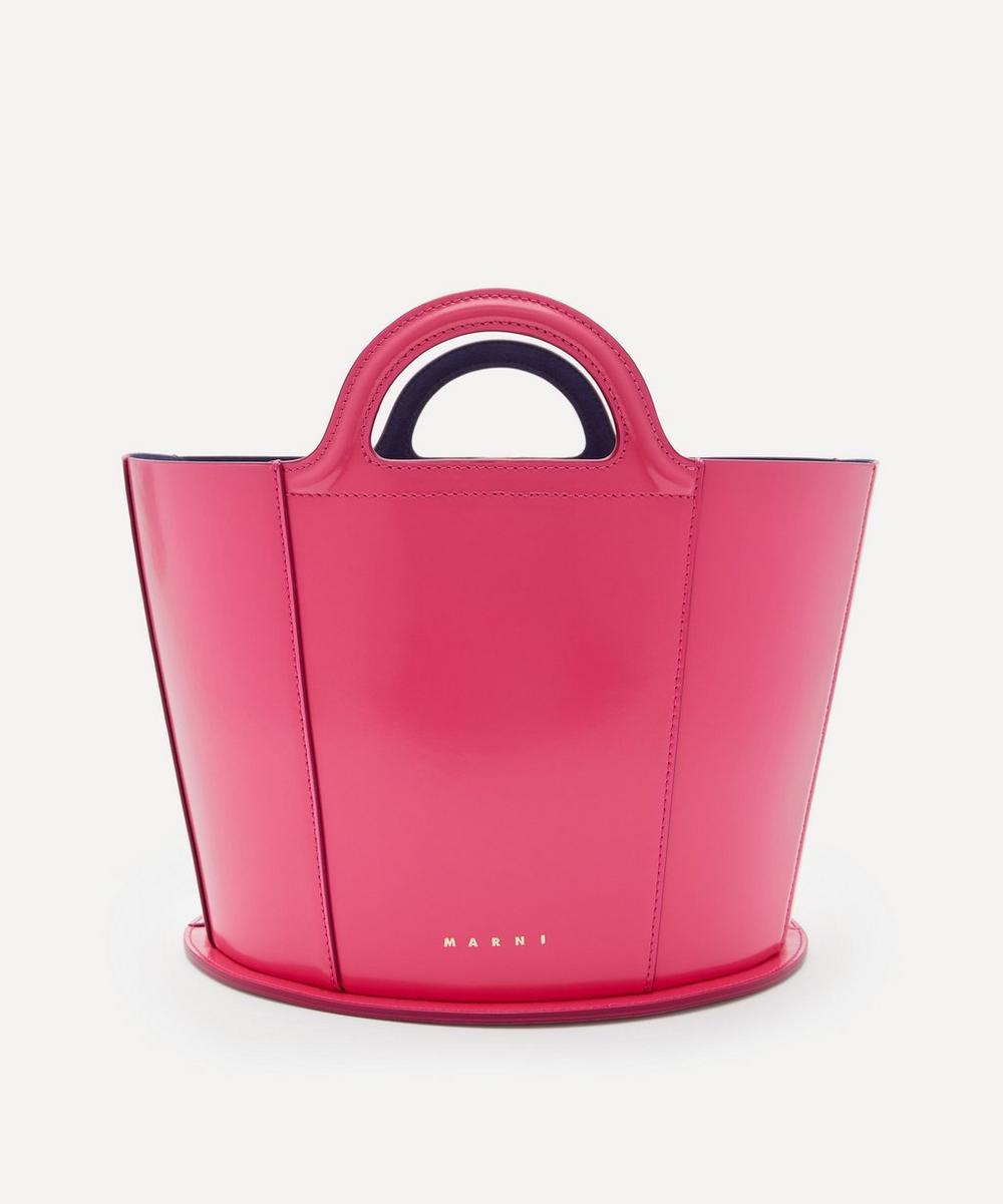 Marni - Tropicalia Small Leather Tote Bag