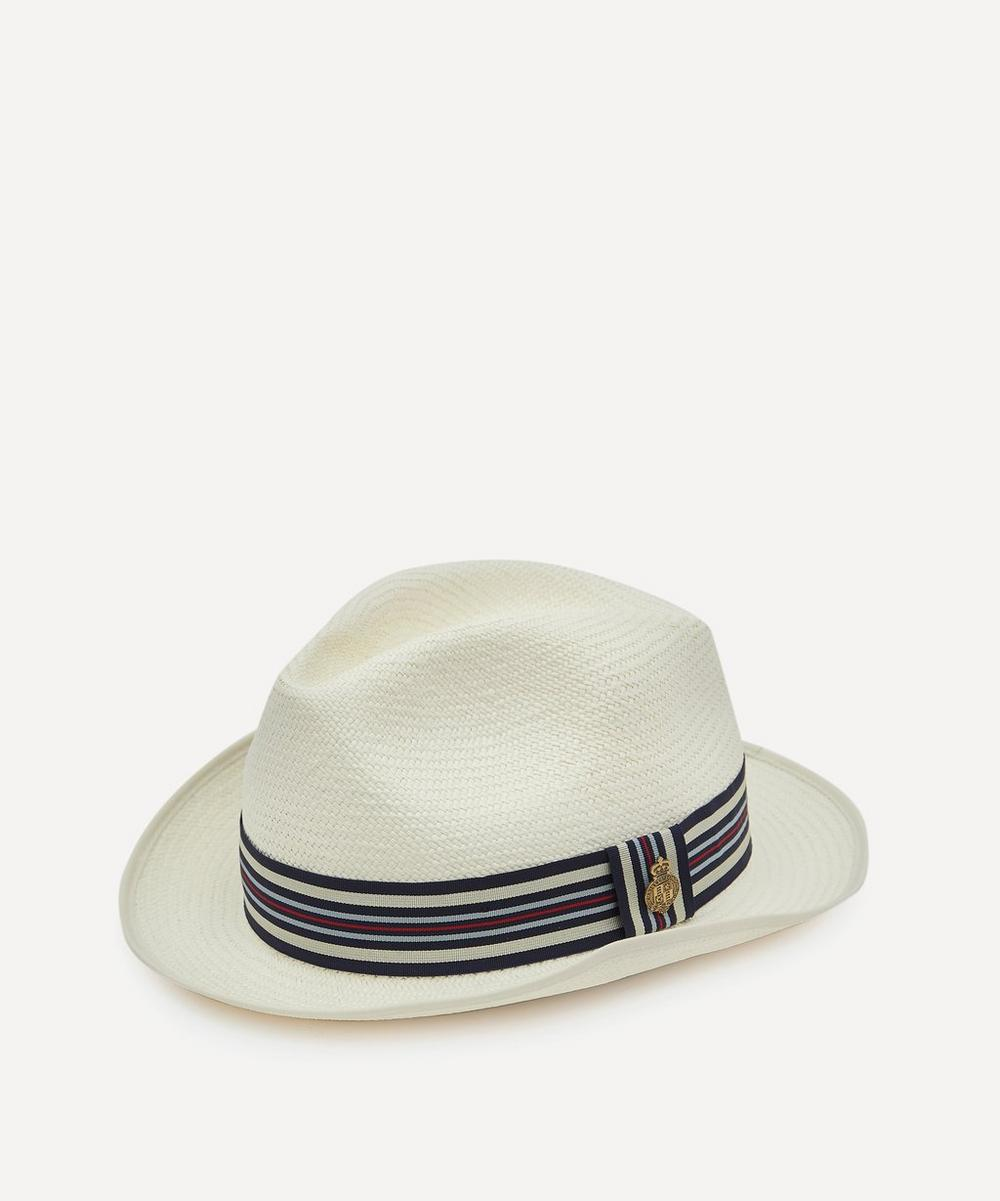 Christys' - Varsity Yorkie Bleached Panama Hat
