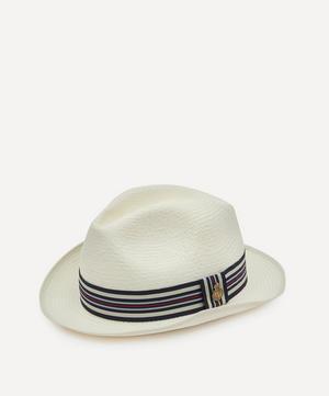 Varsity Yorkie Bleached Panama Hat