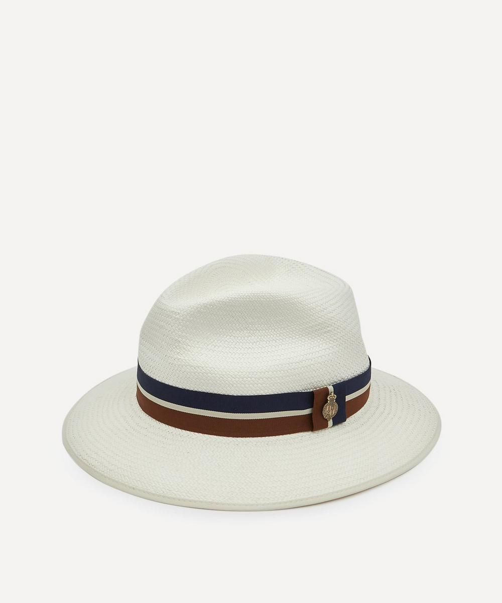 Christys' - Home Counties Bleached Panama Hat