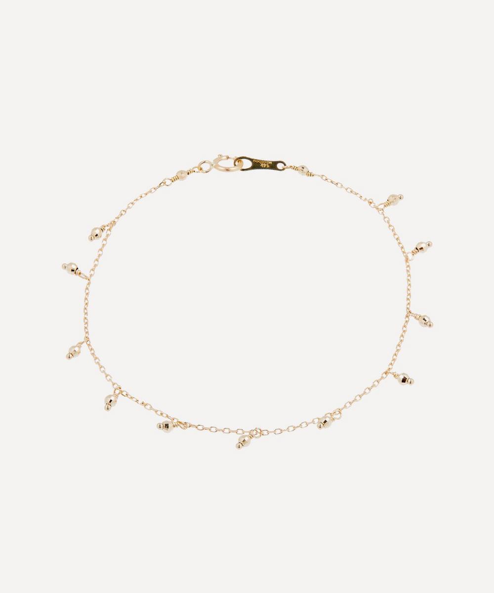 Mizuki - Gold Bead Drop Bracelet