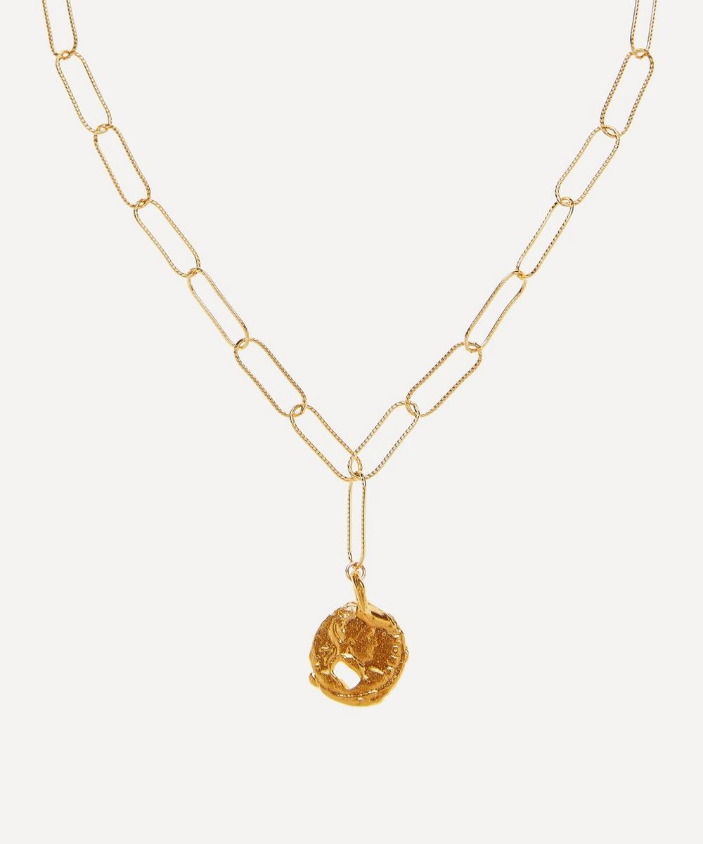 Alighieri - Gold-Plated The Ritual Pendant Necklace