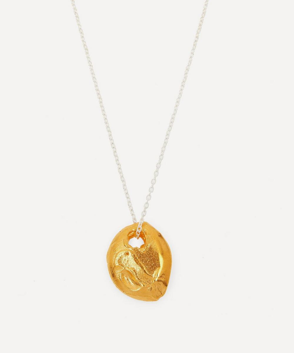Alighieri - Silver and Gold-Plated The Horizon in Sight Pendant Necklace